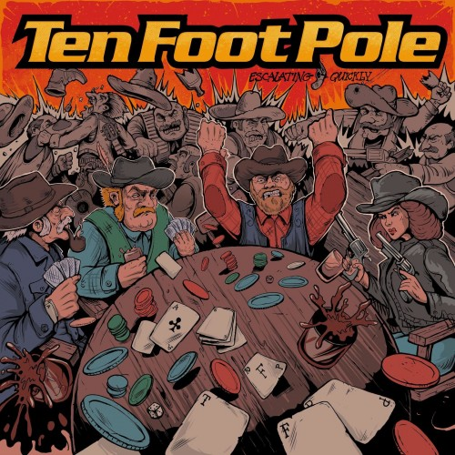 Ten Foot Pole - Escalating Quickly (2019)