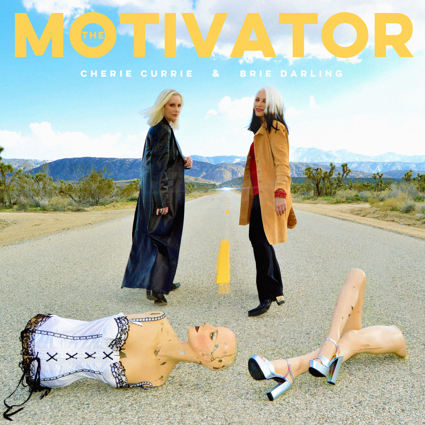 Cherie Currie & Brie Darling - The Motivator (2019)